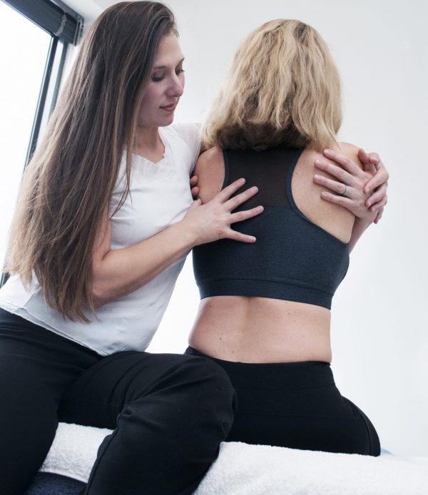 Alexis Weidland Osteopath Blossoming Me Treating client