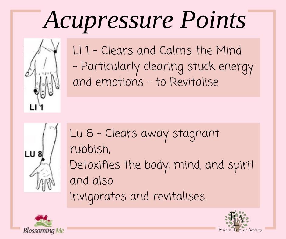 self care acupressure points